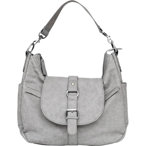 Kelly Moore Bag B-Hobo Bag with Removable Basket (Heather Grey)