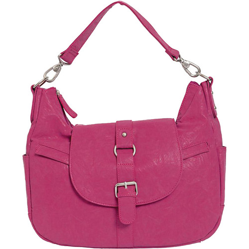 Kelly Moore Bag B-Hobo Bag with Tablet Divider (Fuchsia)