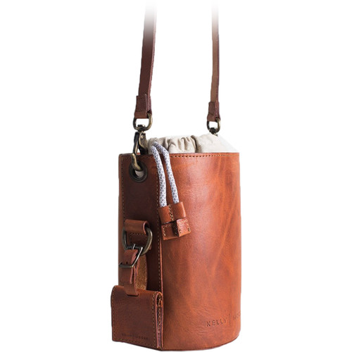 Kelly Moore Bag The Leather Lens Case (Apache Brown)