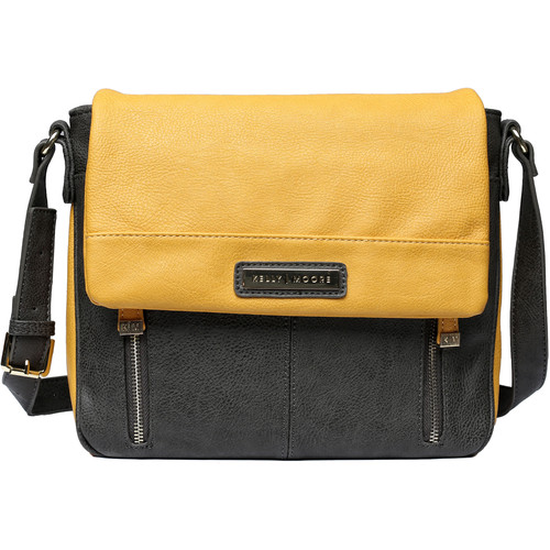 Kelly Moore Bag Luna Messenger Bag (Mustard)