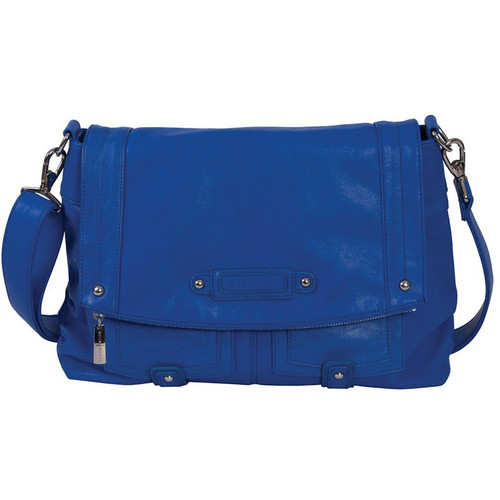 Kelly Moore Bag Songbird Shoulder Bag with Removable Basket (Cobalt Blue)