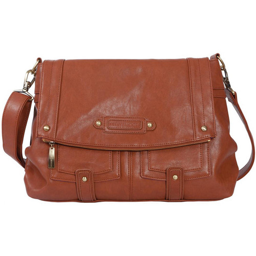 Kelly Moore Bag Songbird Shoulder Bag with Removable Basket (Saddle Brown)
