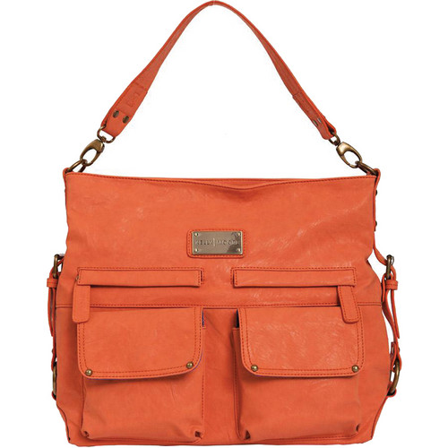Kelly Moore Bag 2 Sues Shoulder Bag with Removable Basket (Orange)
