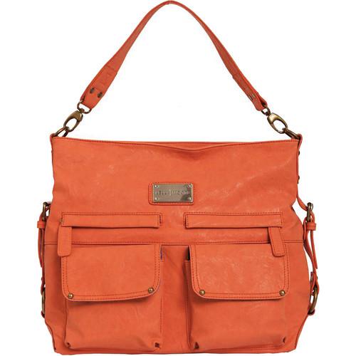 Kelly Moore Bag 2 Sues Shoulder Bag with Removable Basket (Orange)