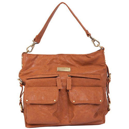 Kelly Moore Bag 2 Sues Shoulder Bag with Removable Basket (Walnut)
