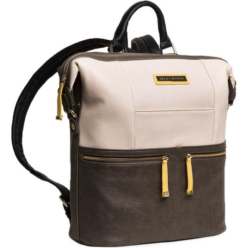 Kelly Moore Bag Woodstock 2.0 Vegan Backpack (Gray/White)