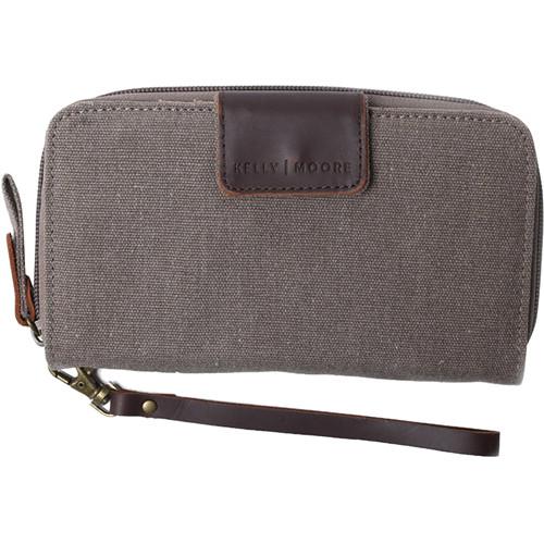 Kelly Moore Bag Canvas Wallet (Sand Canvas/Brown Trim)