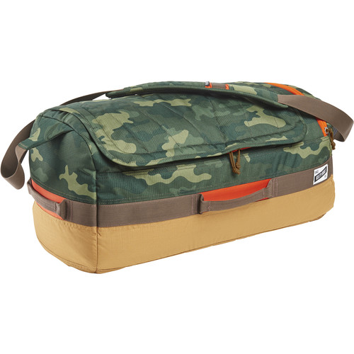 Kelty Dodger 40L Duffel Bag (Green Camo/Canyon Brown)