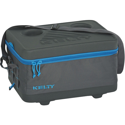 Kelty Small Folding Cooler (Smoke / Paradise Blue)