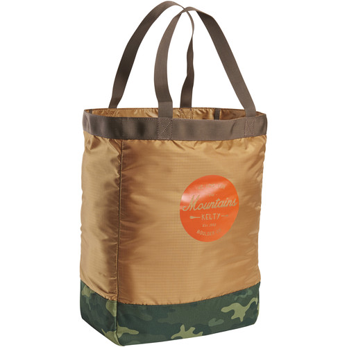 Kelty TOTES 30L Tote (Canyon Brown/Green Camo)