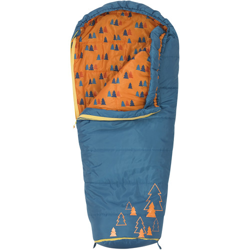 Kelty Big Dipper 30 Sleeping Bag for Kids (Boys - Navy Blue)