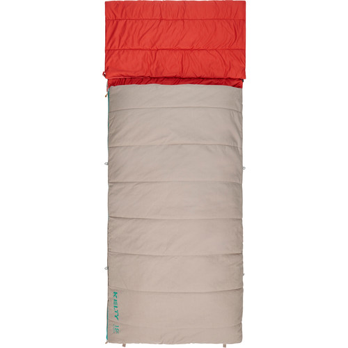Kelty Revival 15°F Sleeping Bag (Women's, Tan)