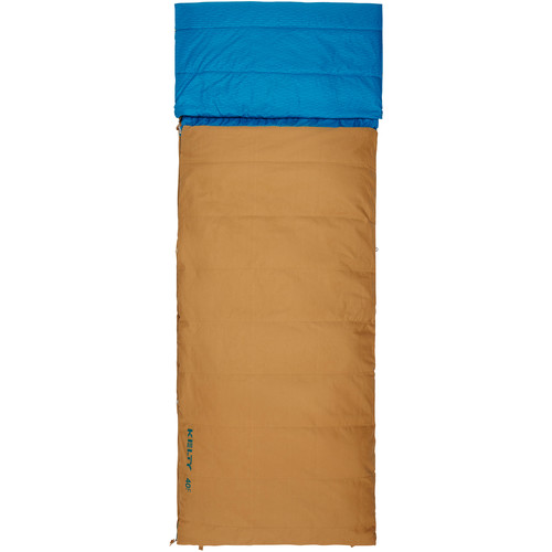 Kelty Revival 40°F Sleeping Bag (Regular, Canyon Brown)