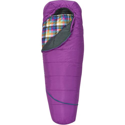 Kelty Tru Comfort 35°F Kids Lynus Sleeping Bag (Black Cherry)