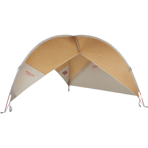 Kelty Sunshade with Side Wall (Brown)