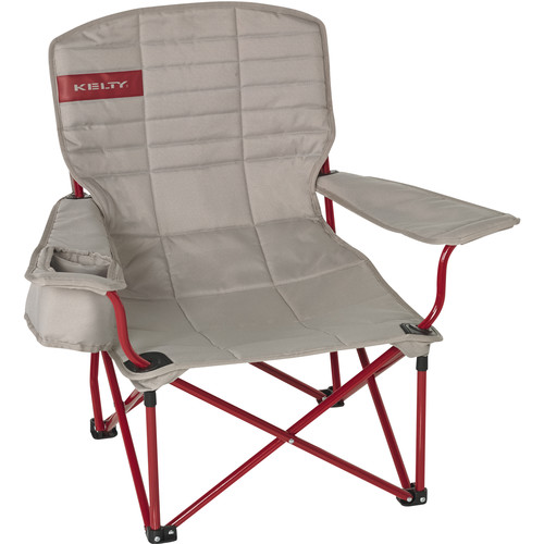 Kelty Folding Lowdown Chair (Tundra/Chili Pepper)