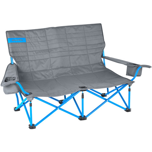 Kelty Folding Low-Love Chair (Smoke/Paradise Blue)