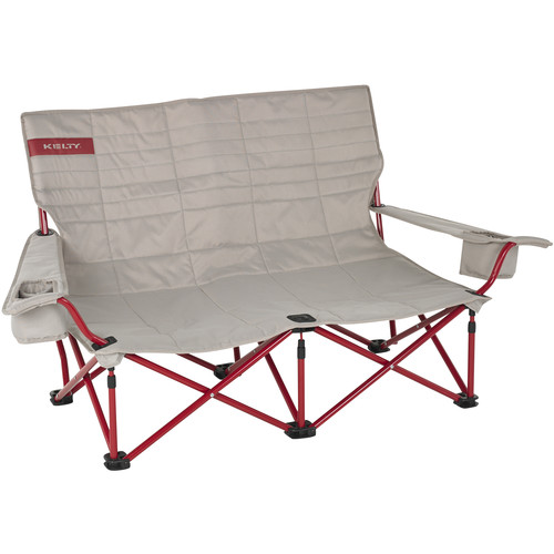 Kelty Folding Low-Love Chair (Tundra/Chili Pepper)