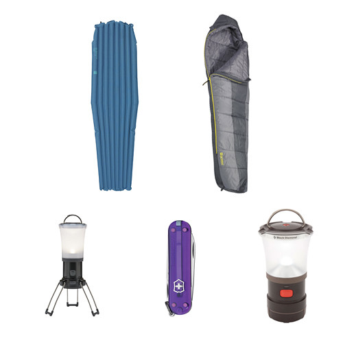 Kelty Warm Weather Sleeping Bag/Pad Kit