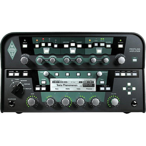 Kemper Kemper Profiling PowerHead- 600-Watt Amplifier Profiler