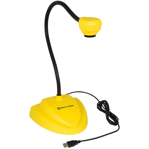 Ken-A-Vision 7880 Vision Viewer Auto Focus Document Camera (Yellow)
