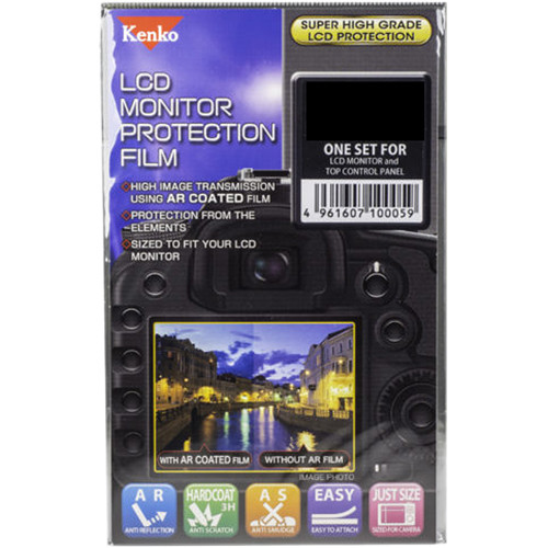 Kenko LCD Monitor Protection Film for the Panasonic Lumix ZS200 or ZS100 Camera