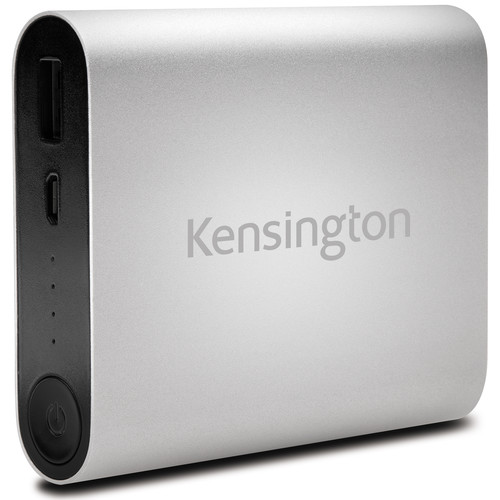 Kensington 10,400mAh USB Mobile Charger (Silver)