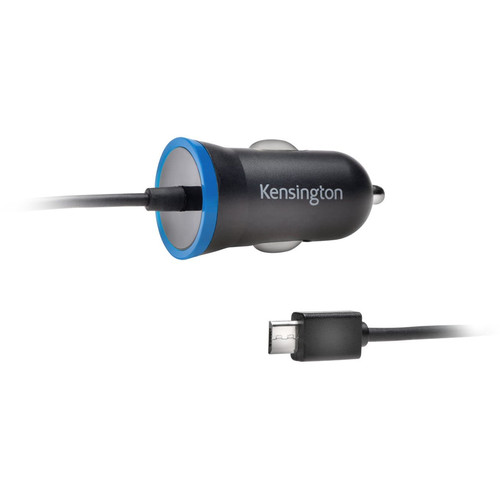 Kensington PowerBolt 2.6 Micro-USB Car Charger (Black)
