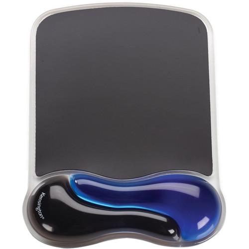 Kensington Duo Gel Mousepad Wrist Rest (Blue and Black)