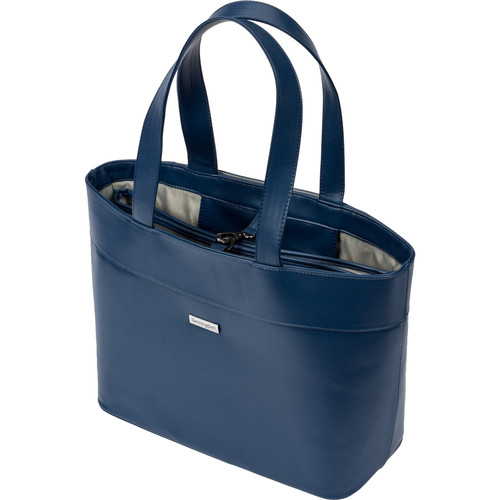 """Kensington LM650 Jacqueline Tote for 15.6"""" Laptop and 12"""" Tablet (Navy)"""