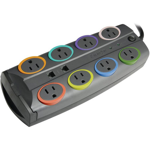 Kensington SmartSockets Premium 8-Outlet Surge Protector