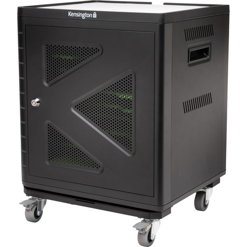 Kensington Charge & Sync Cabinet with Trolley for Ten Tablets