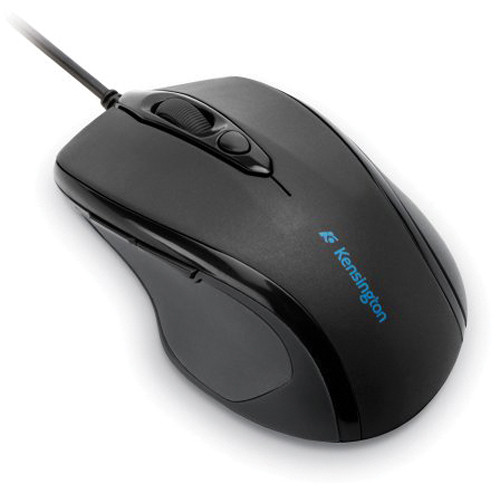 Kensington Pro Fit USB Mid-Size Mouse (Black)
