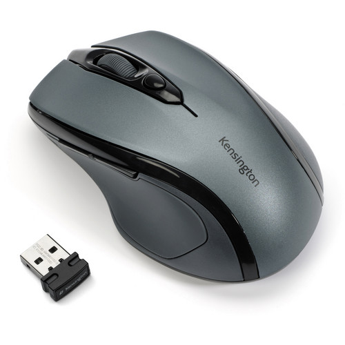 Kensington Pro Fit Mid-Size Wireless Mouse (Graphite Gray)