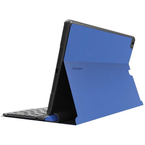 Kensington KeyFolio Exact - Thin Folio with Keyboard for iPad Air (Blue)