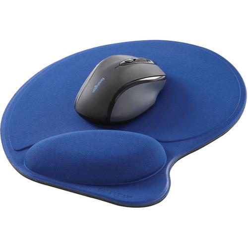 Kensington Wrist Pillow Mouse Pad with Wrist Rest (Blue)