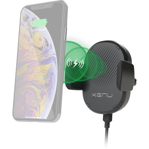 Kenu Airframe Qi-Wireless Car Smartphone Vent Mount