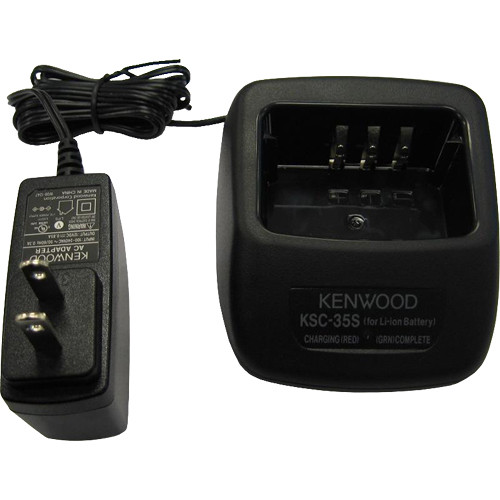 Kenwood Fast Rate Single Unit Charger For KNB-45L Lithium-Ion Battery