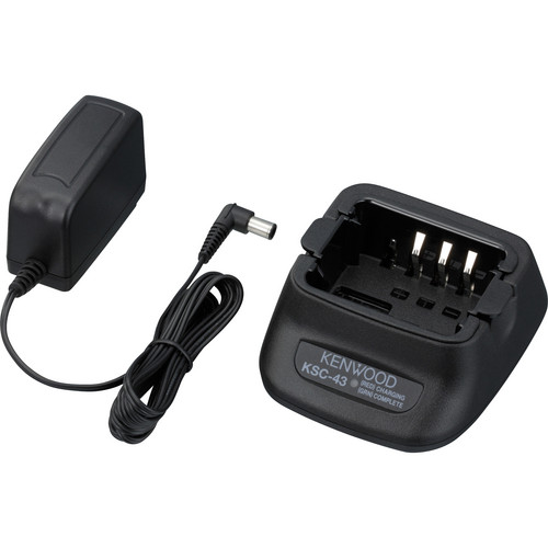 Kenwood KSC-43K Single-Way Dual-Chemistry Rapid Charger