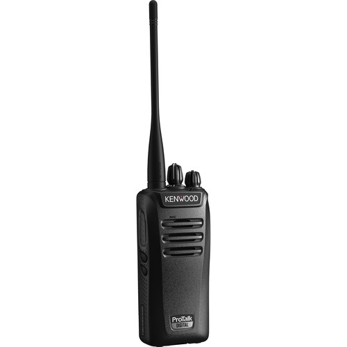 Kenwood ProTalk NX-240V16P VHF Digital/Analog 5W 16-Ch Portable Radio (151 to 159 MHz)