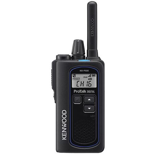 Kenwood ProTalk Digital NX-P500 6-Channel UHF 2-Way Business Radio
