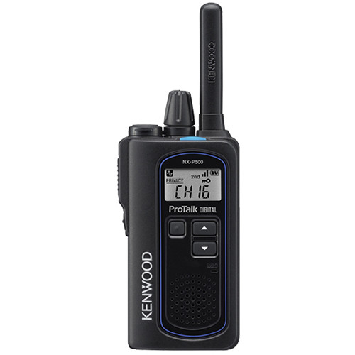 Kenwood ProTalk Digital NX-P500 6-Channel UHF Two-Way Business Radio