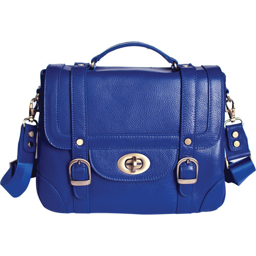 Ketti Handbags The Schoolgirl Camera Bag (Electric Blue)