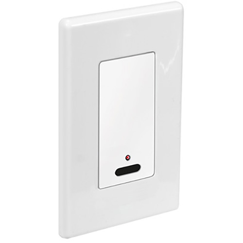 Key-Digital IR Wall Plate Receiver for KD-IRCB204 IR Control Block (White)