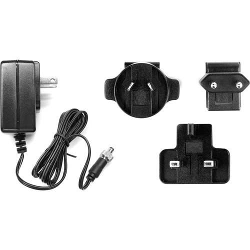 Key-Digital 5V/1A DC Power Supply with Screw-In Connector & Interchangeable International Plug Heads