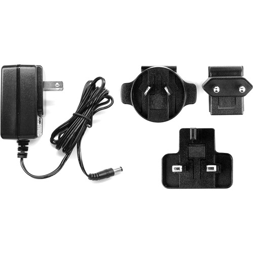 Key-Digital 5V/3A DC Power Supply with Interchangeable International Plug Heads