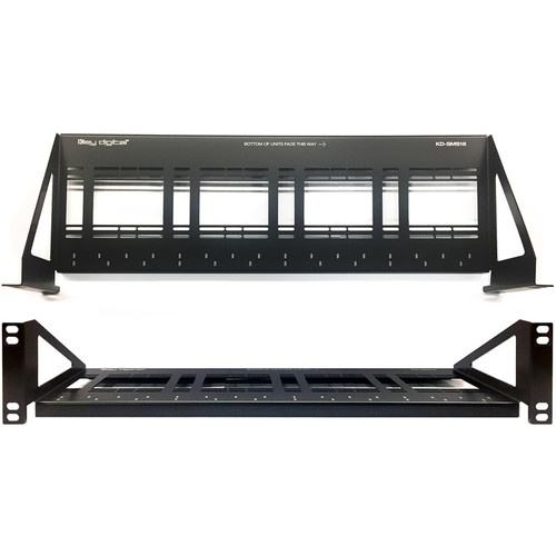 Key-Digital Shelf Mounting System for up to 16 KD-Series Extenders