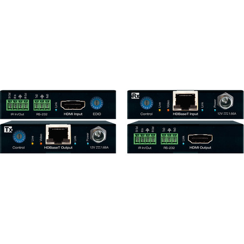 Key-Digital 4K/18G POH/HDBT/HDMI Extender Kit