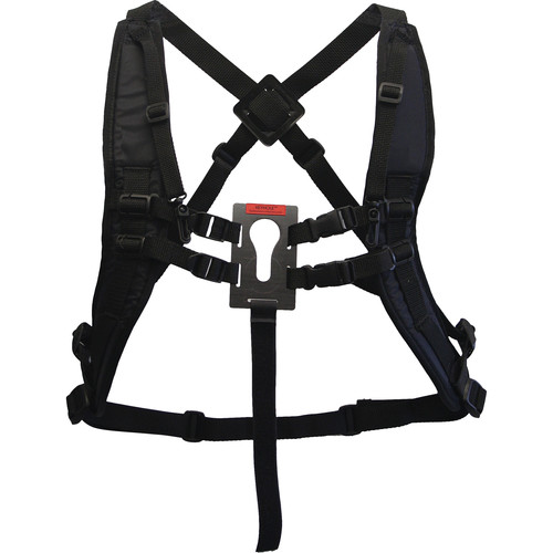 Keyhole Hands-Free Camera/Binoculars Carrying Harness with Shoulder Straps