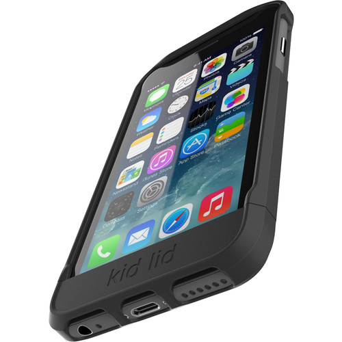 Kid Lid Dual Function Case for iPhone 6/6s (Black)